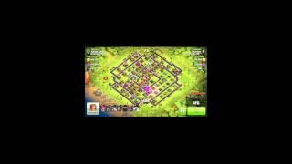 Clash of clans: pillage a 1000000 de ressources !!