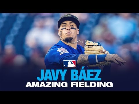 Javy Baez - El Mago In The Field! (Fielding Highlights 2019)