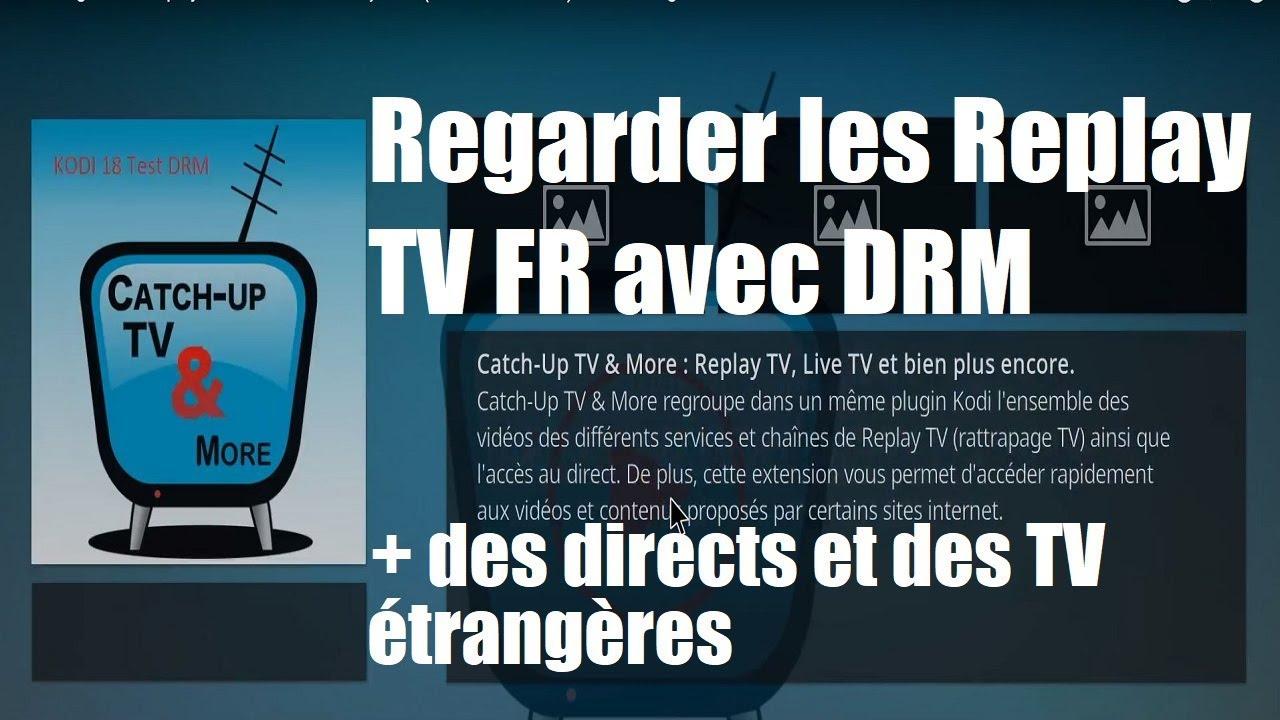 vidéo m6 replay drm