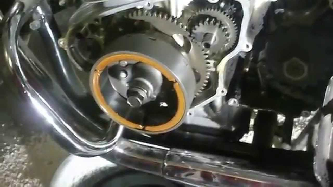 110 Atv Stator Wiring Diagram Gs450t Removing Stator Youtube