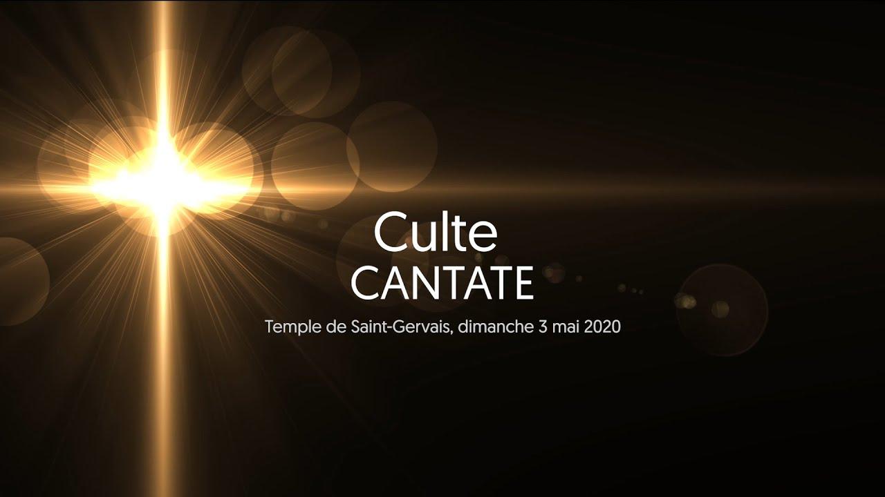 Culte: Cantate au temple de Saint-Gervais