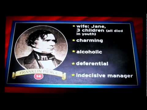 The Presidents: Number 14: Franklin Pierce