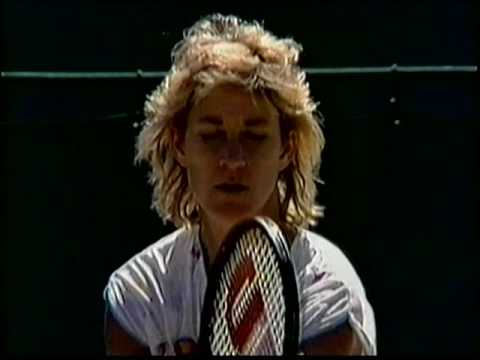 Chris Evert d. Fairbank Wimbledon 1987 (Part 1)
