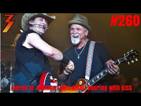 Ep. 260 Derek St. Holmes, The Voice of Ted Nugent Remembers Touring with KISS in the 70s