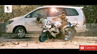 Stunt of Allu Arjun/from main hoon lucky the racer/