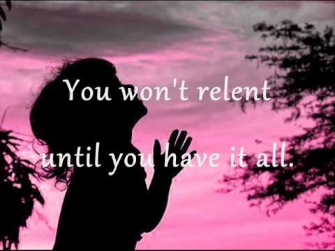 Jesus Culture - You won`t relent (lyrics)
