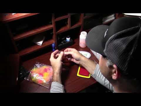 Tying Spawn Sacks For Steelhead Fishing