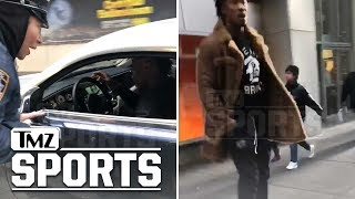 Brandon Marshall Cussed Out By Heckler, Smartly Walks Away | TMZ Sports