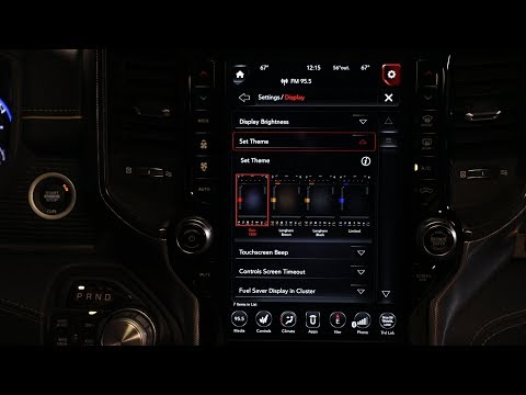 personalizing-the-2019-ram-1500-uconnect-display