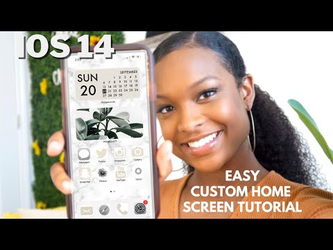 How To Customize Your IPhone With IOS 14! | * Aesthetic * IOS 14 Home Screen Ideas + Tips U0026 Tricks