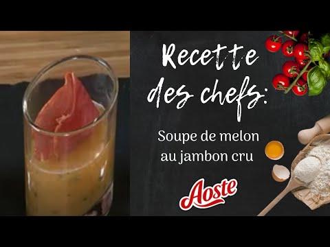 Recette aoste chips de jambon cru melon youtube - Melon jambon cru presentation ...