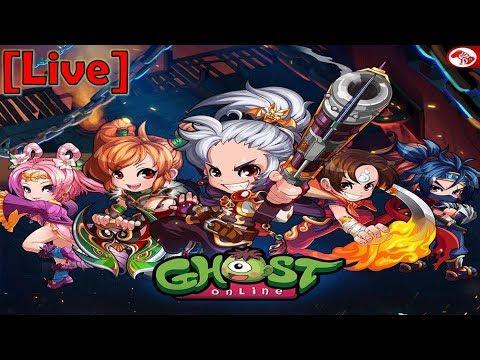 ????[Live] Ghost Online TH : เปิดเซิพจริงวันแรกนาจา+++