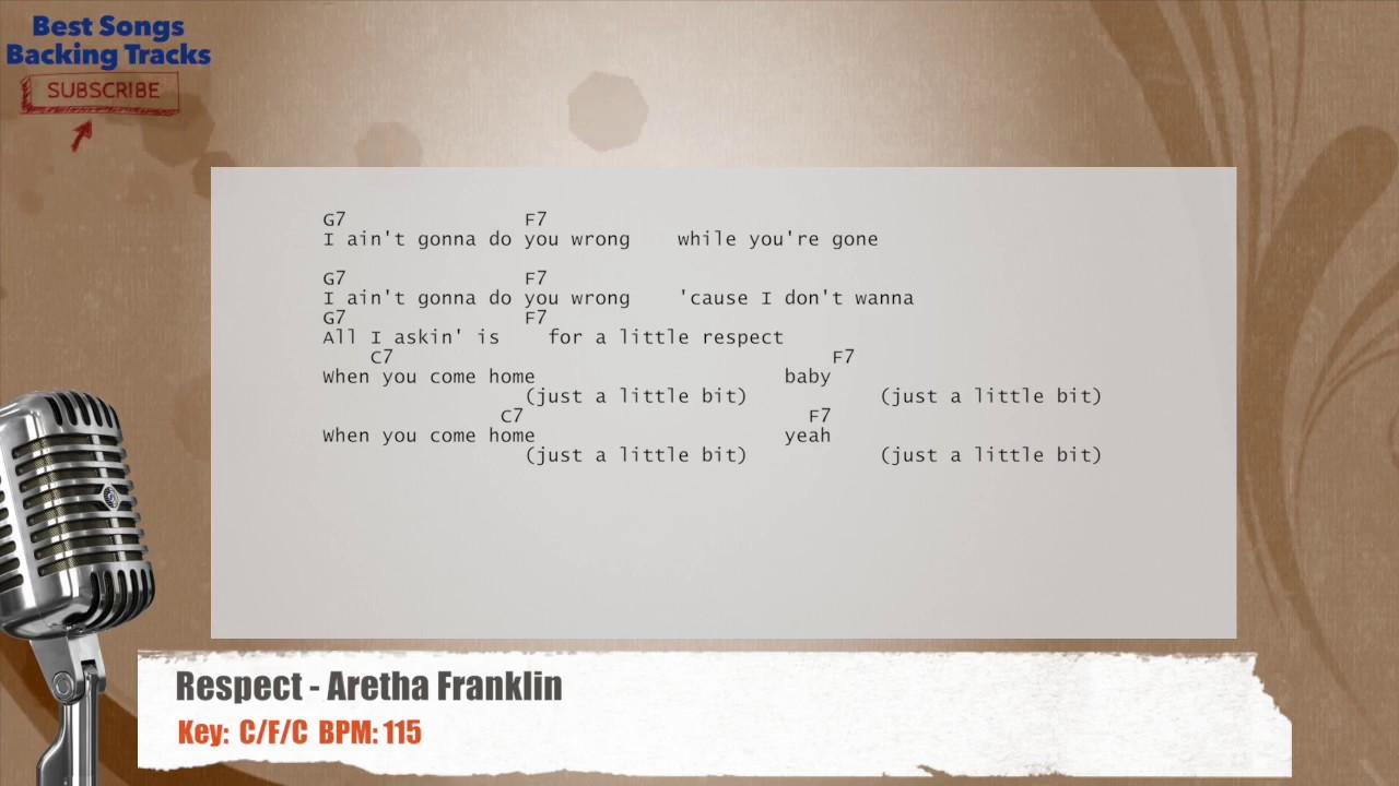 Aretha Franklin Respect Lyrics