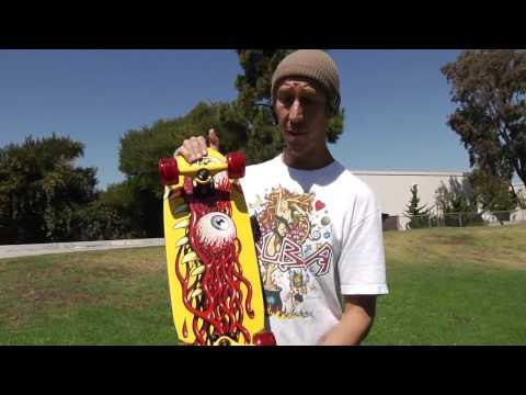 Santa Cruz Skateboards: Eye Pod Cruiser