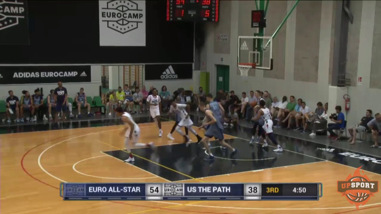 Highlights Usa The Path Team Vs Euro All Star 1 67 91 Adidas Eurocamp 6 11 2017
