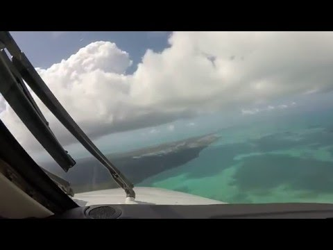King Air 350 Approach and Landing in North Eleuthera, Bahamas - MYEH