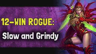 Hearthstone Arena | 12-Win Rogue: Slow and Grindy (Boomsday #7)