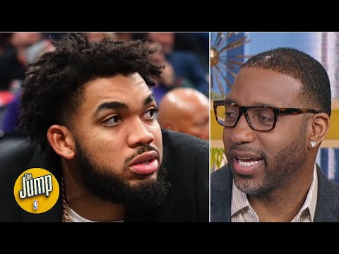 Tracy McGrady begs Karl-Anthony Towns to come back soon | The Jump
