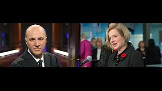 WATCH: Notley's response to O'Leary's million dollar offer
