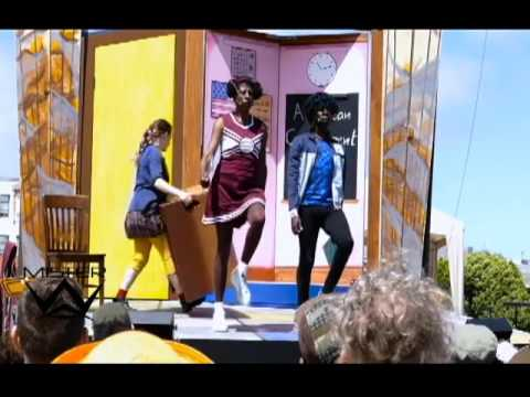 """""""Schooled,"""" by the San Francisco Mime Troupe"""