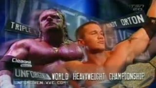 Randy Orton VS Triple H Unforgiven 2004 Español  WWE 2K15 Simulacion