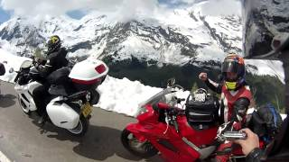 Großglockner, Alpine Pass, Austria 2013 Motorcycle Tour