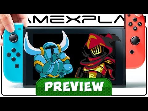 We Played Shovel Knight on Switch! Specter Knight + In-Depth Switch Hands-on Preview