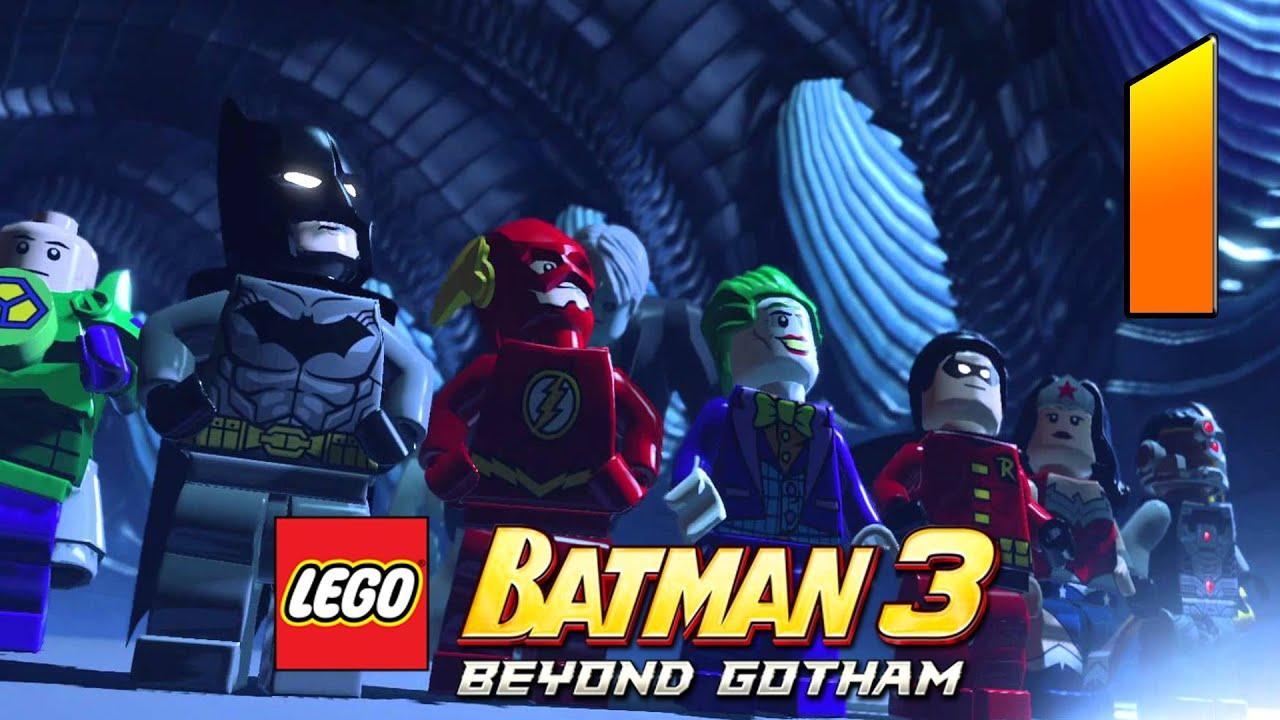 LEGO Batman 3 Walkthrough Part 1 (PC Gameplay No ...