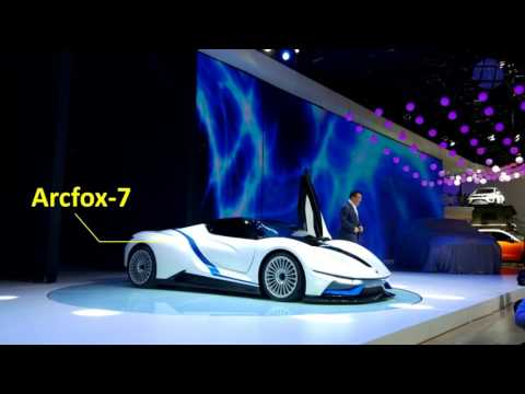 China's electric cars go high-end