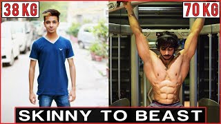 Natural Body Transformation | Indian Bodybuilding | AESTHETICALLY