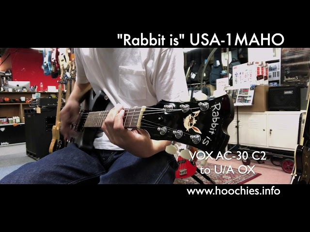 Rabbit is USA-1 SATIN BLACK