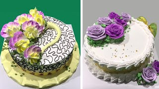 Most Satisfying Chocolate Cake Decorating Ideas 😱 So Yummy Cake Recipes 😍 Easy Dessert Recipes