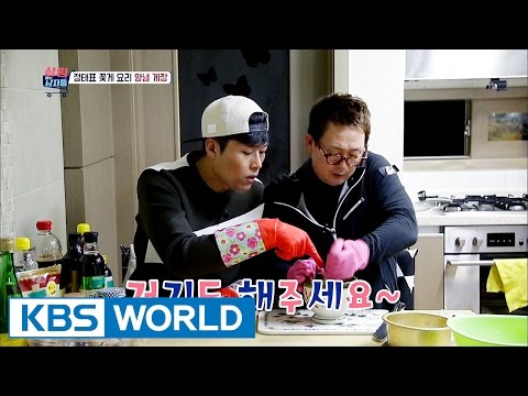 Jungtae's special cooking lesson for Iljoong, crab dish [Mr. House Husband / 2016.12.27]