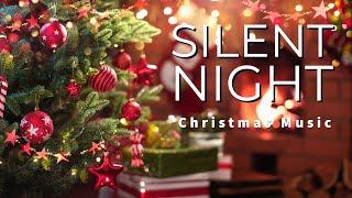 Silent Night With Lyrics   Christmas Carol Relaxing Music (1 Hour)