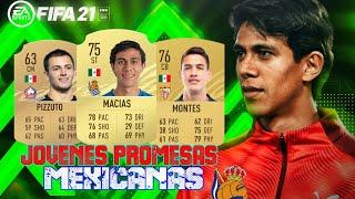 Jóvenes Promesas Mexicanas para FIFA 21 / Joyas Mexicanas Modo Carrera