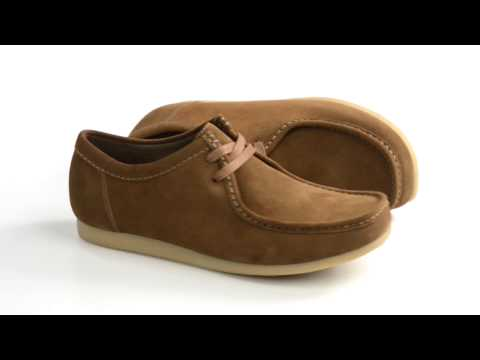 Clarks Gunn Lace-Up Shoes - Suede (For Men)