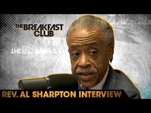 Al Sharpton Interview at The Breakfast Club Power 105.1 (04/14/2016)