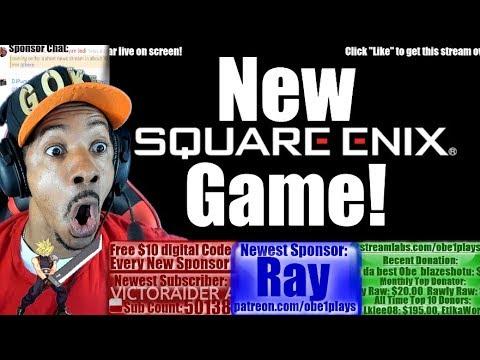 New Square Enix Game!