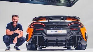 NEW McLaren 600LT FIRST LOOK & Exhaust Sound!