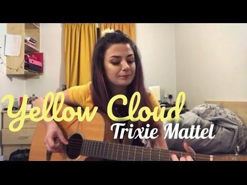 Yellow Cloud || Trixie Mattel || Cover