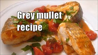 Italian Food Recipes MULLET alla Pizzaiola Mullet with Tomato