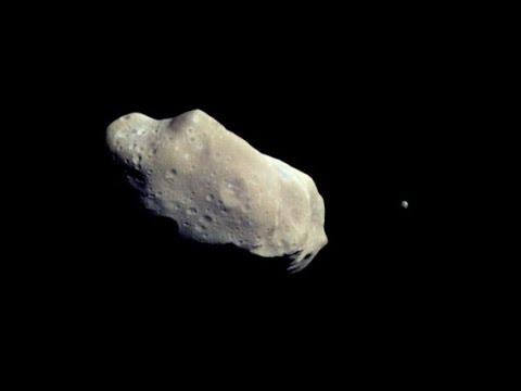 Dactyl Asteroid Moon