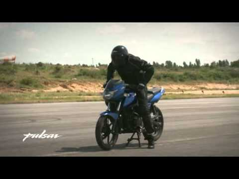 Pulsar Stunt Guide - Rolling Stoppie