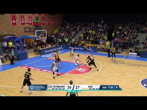 Manny Harris BCL second high (36 p.) vs Nymburk
