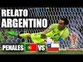 RELATO ARGENTINO PENALES CHILE VS PORTUGAL | COPA CONFEDERACIONES | CoolHector88