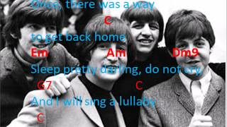 BEATLES-Golden Slumber Carry that Weight