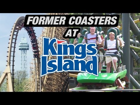 The Former Coasters of Kings Island!