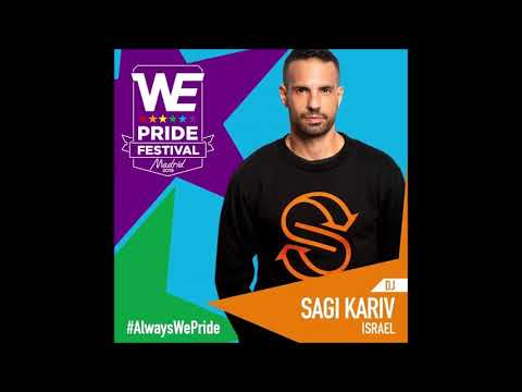 Sagi Kariv Live @ WE Massive Main Party - Madrid Pride 2019