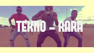 TEKNO Rara | Dance routine (Audio Muted)