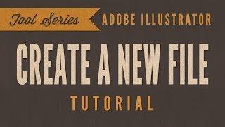 Adobe Illustrator CS6 CC Öğretici *BAŞLANGIÇ*- Nasıl Yeni Bir Dosya
